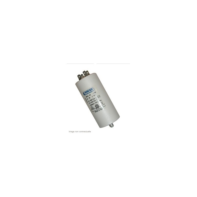 Condensateur 14µf, 14mf, 14 microfarads 450V COSSES