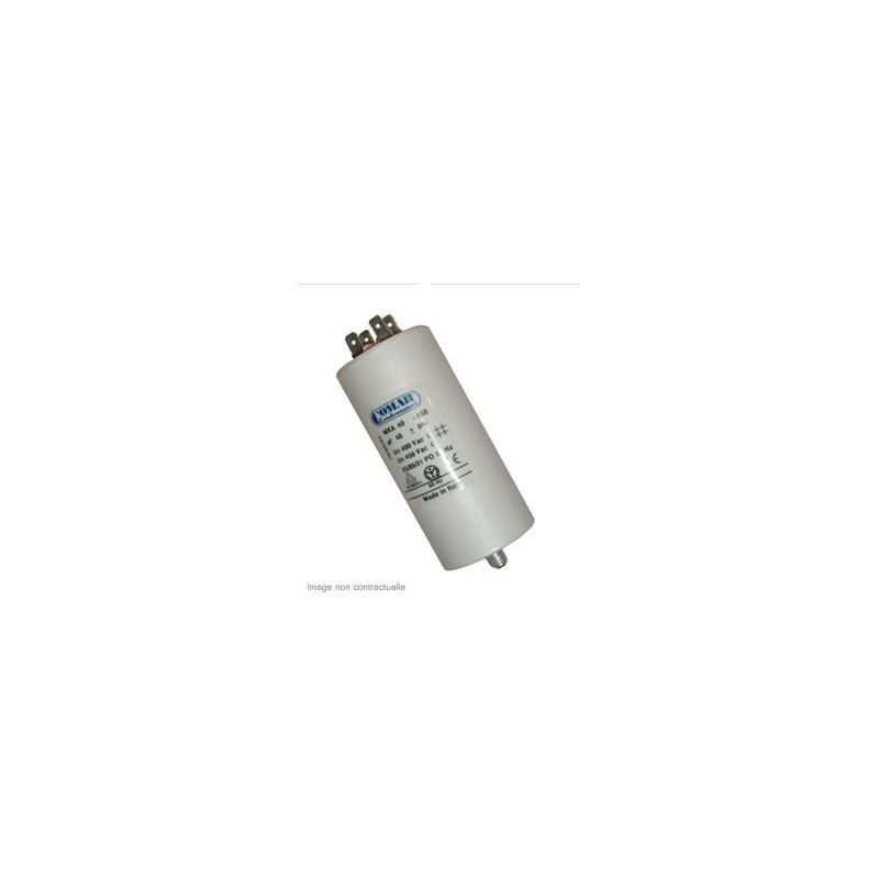 Condensateur 40µf, 40mf, 40 microfarads 450V COSSES