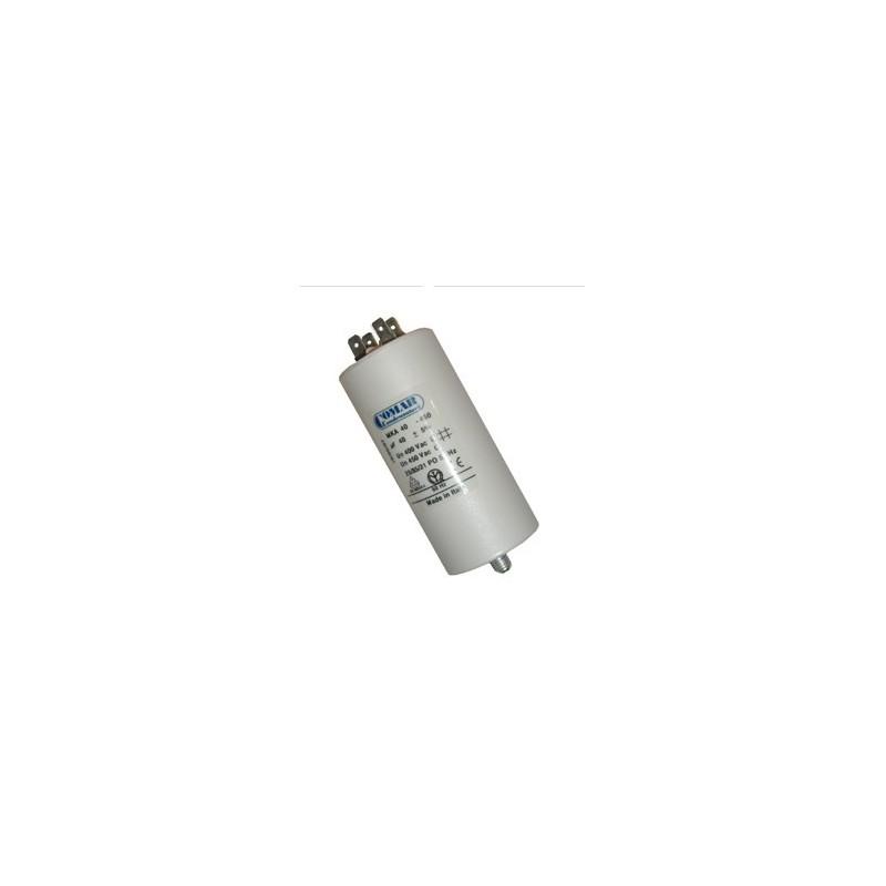 Condensateur 45µf, 45mf, 45 microfarads 450V COSSES
