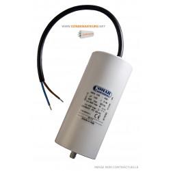 Condensateur 100µf, 100mf, 100 microfarads 450V CABLE