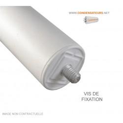 Vis de fixation condensateur 12,5 µF 450V câble