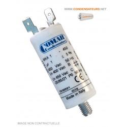 Condensateur de démarrage 1µf 450V COSSES