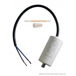 Condensateur de démarrage 1.25mf 450V à câble