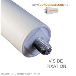 Condensateur démarrage 2 mf 450V à câble