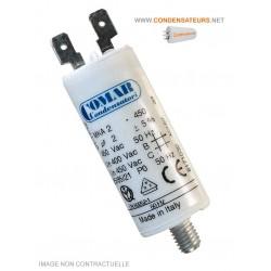 Condensateur de démarrage 2µf 450V COSSES