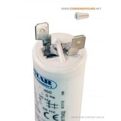Condensateur démarrage 3µf 450V COSSES
