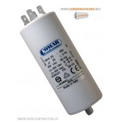 Condensateur de démarrage 25µf cosses
