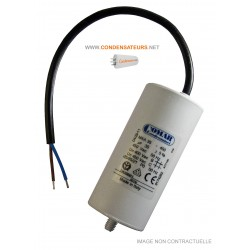 Condensateur de démarrage 35µF câble