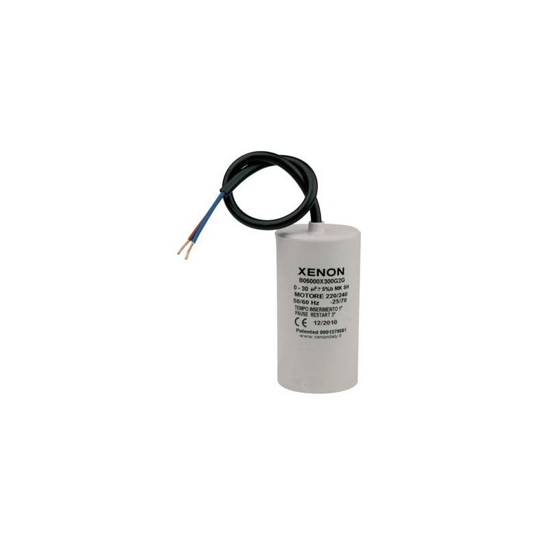 Condensateur 30µf avec relais électronique de démarrage intégré