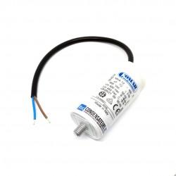Condensateur 12µf 450V à câble pour moteur électrique