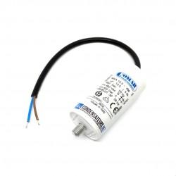 Condensateur permanent 12,5µF à câble pour moteur électrique