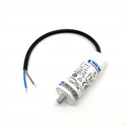 Condensateur permanent 8µf à câble pour moteur électrique