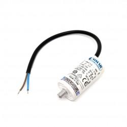 Condensateur permanent 5,5µF à câble pour moteur électrique