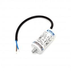 Condensateur permanent 7µF  à câble pour moteur électrique