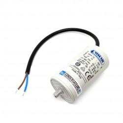 Condensateur permanent 15µF à câble pour moteur électrique