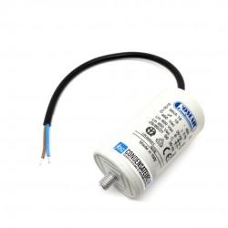 Condensateur permanent 18µF à câble pour moteur électrique