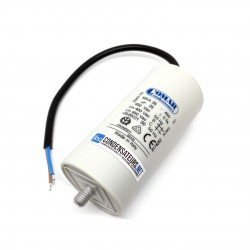 Condensateur permanent 35µF à câble pour moteur électrique