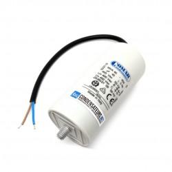 Condensateur permanent 40µF à câble pour moteur électrique