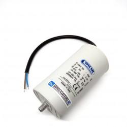 Condensateur permanent 55µF à câble pour moteur électrique