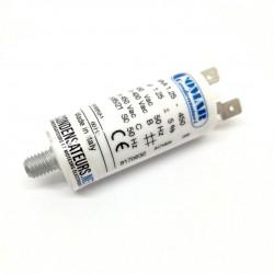 Condensateur permanent 1,25µF à câble pour moteur électrique