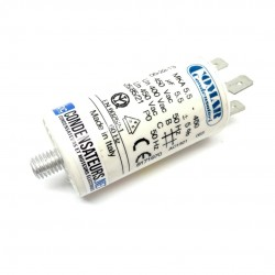 Condensateur permanent 5,5µF à cosses pour moteur électrique